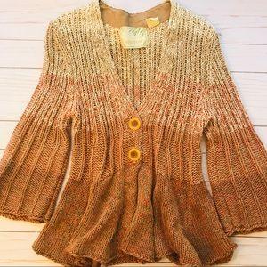 Anthropologie SPARROW Sea Change Cardigan Sweater